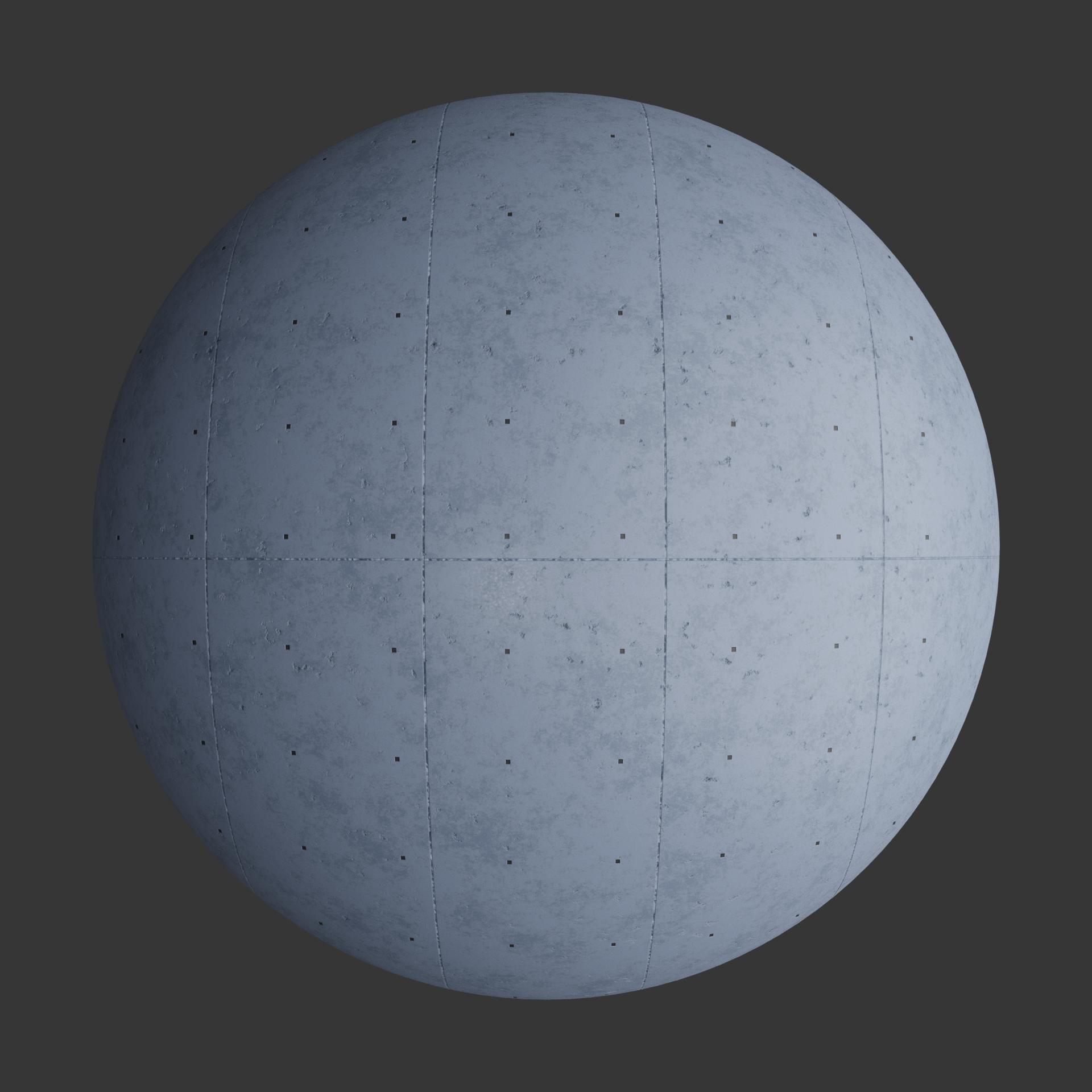 Concrete Plates Unstudded 2